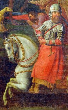 Husarz pod Smoleńskiem 1 marca 1634 roku. Obraz namalował Jan de Baan w 1663 roku.