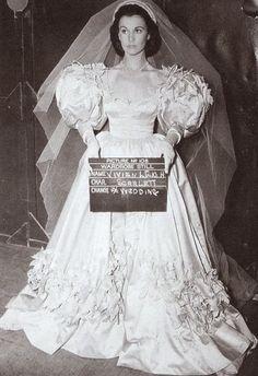 Scarlett O'Hara Wedding Dress | Vivien Leigh as Scarlett O'Hara