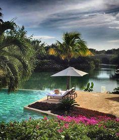 Fairmont Mayakoba, Playa del Carmen, Mexico. Photo courtesy of rolabagnara on Instagram.