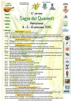 Sagra del Quarantì 2015 a Roccafranca http://www.panesalamina.com/2015/40584-5-sagra-del-quaranti-a-roccafranca.html