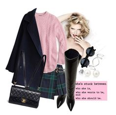 """stuck"" by bibi-b ❤ liked on Polyvore featuring Isabel Marant, Burberry, J.Crew and Chanel"