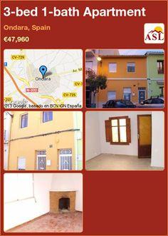 3-bed 1-bath Apartment in Ondara, Spain ►€47,960 #PropertyForSaleInSpain