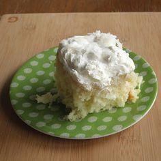 Food Pusher: Easy Coconut Cake