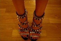 rocking heels