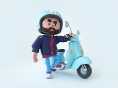 Vespa ride by Makata StudioYou can find artwork and more on our website.Vespa ride by Makata Studio
