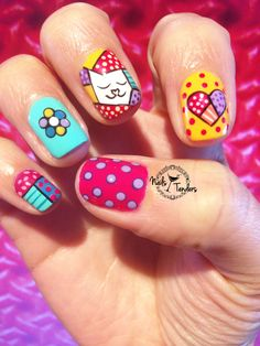 """""""All papers are born in white. Give color is your decision"""" R. Love Nails, My Nails, All Paper, Manicure, Nail Polish, Nail Art, Cat, Color, Baby Shower"""