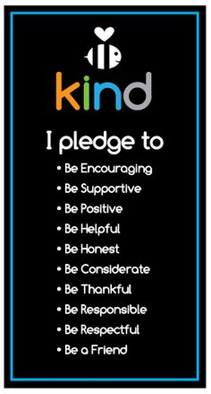 The Be Kind People Projectinitiates positive social change in schools, to improve the learning environment for enhanced student achievement, to significantly ameliorate unwanted behavior issues-often manifested or interpreted as bullying, and to provide a comprehensive and culturally relevant framework for responsible and enduring youth development. Building Healthy Relationship Skills Themes of The Be Kind Pledge™ …