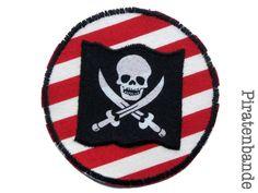 Piraten-Flagge Applikation