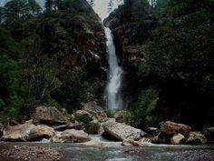 Cascada de la Mina de la aldea de Duyusupo Honduras, Choluteca, San Marcos de colon