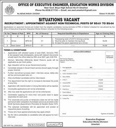 Driver & Naib Qasid Jobs 2021 Sindh Daily Dawn, Last Date, Appointments, High School, Engineering, Positivity, Education, Jun