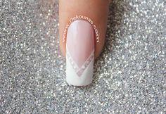 Wedding Nails, Nail Designs, Gemstone Rings, Nail Polish, Shapes, Gemstones, Beauty, Jewelry, Zoro