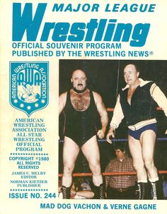 Major League Wrestling April 1980
