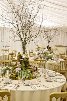 Wedding Decorations, Table Decorations, Woodland Garden, Spring Blooms, Winter Weddings, Center Pieces, Crow, Natural Wood, Table Settings