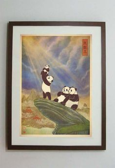 Kind of... amazing // The Panda King. $30.00, via Etsy.