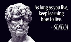 A collection of quotes attributed to Roman philosopher and dramatist Lucius Annaeus Seneca. Wisdom Quotes, Words Quotes, Wise Words, Quotes To Live By, Me Quotes, Motivational Quotes, Inspirational Quotes, Sayings, Positive Quotes