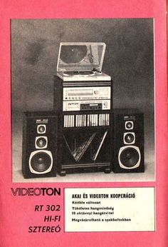 Radios, Budapest Hungary, Illustrations And Posters, 1980s, Technology, History, Graphics, Vintage, Music