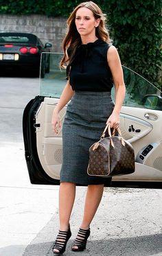 Libertinna: Jennifer Love Hewitt, a Melinda Gordon da serie 'Em Contacto' - um ícone da moda
