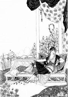 Ronald Balfour | Illustration for The Rubaiyat of Omar Khayyam