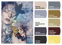 ColorSnap by Sherwin-Williams – ColorSnap by Reyhan S. Abalone Shell, Daffodils, Dark Red, House Colors, Daydream, Paint Colors, Plum, Palette, Ivory