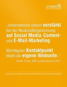 #Kundengewinnung #Social-Media-Marketing #E-Mail-Marketing #Content-Marketing #B2B Online-Marketing