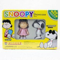 SNOOPY Showcase vol.4 スヌーピー&ルーシー キューブリック メディコムトイ