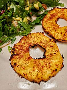 Air Fryer Roasted Pineapple