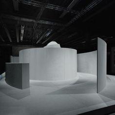 La Cava, Verona, by Claudio Silvestrin Museum Exhibition Design, Exhibition Display, Exhibition Space, Design Museum, Exhibition Stands, Display Design, Diy Design, Co Working, Stage Design