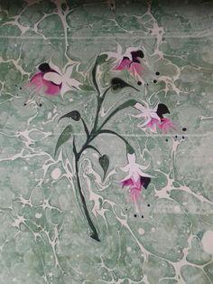 ebru sanatı ( marbling art)by Mai Hatti