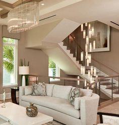Modern foyer chandelier for entrayway or stairway lighting Luxury customized modern foyer cheandelie Entryway Light Fixtures, Entryway Chandelier, Entryway Lighting, Chandelier Lighting, Glass Chandelier, High Ceiling Lighting, Stairway Lighting, Ceiling Light Design, Modern Ceiling