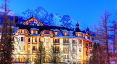 Looking back upon a 100 year-long tradition in hospitality the historical Grandhotel Stary Smokovec in the centre of the High Tatras, only 3 minutes from. Czech Republic, Poland, Places Ive Been, Beautiful Places, Around The Worlds, Relax, Explore, Mansions, House Styles