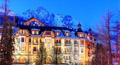 Grandhotel Stary Smokovec, Vysoké Tatry, Slovakia - dokonalý oddych, relax aj turistika ♥ ♥ https://www.zlavomat.sk/zlava/558149-grandhotel-praha-v-tatranskej-lomnici?rel=suggest