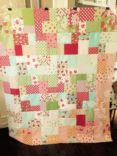 Double Slice Layer Cake Quilt Pattern Free