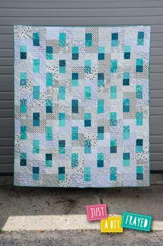 just a bit frayed: Bento Box Quilt for Modern Patchwork Summer 2015