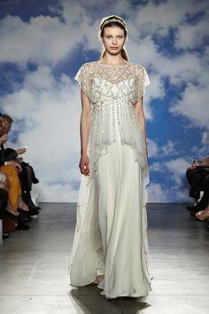 Jenny Packham 2015 Bridal Collection - New York Bridal Fashion Week Catwalk Images