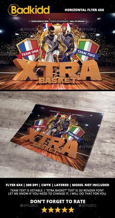 Basketball Flyer Horizontal - Sports Events