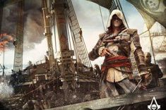 Assassin's Creed 4: Black Flag ~ I love this game; so much fun to play and the world in it is massive so there's lots to see and do.