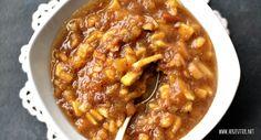 Herzfutter | Food-Blog : PAMK: Winterliche Bratapfelmarmelade für ein leckeres Adventsfrühstück