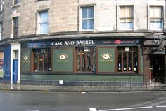 The Cask and Barrel - my local....
