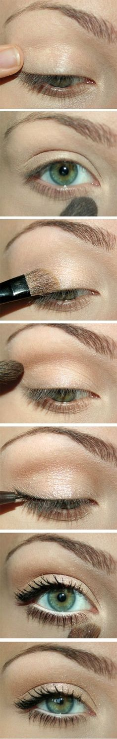 15-Easy-Natural-Make-Up-Tutorials-2014-For-Beginners-Learners-16