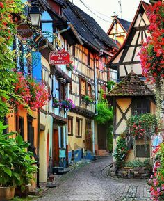 Urlaub Colmar, Alsace - Incredible Honeymoon Destinations You Haven't Thought Of - Photos author:Sam Places Around The World, The Places Youll Go, Travel Around The World, Places To Go, Around The Worlds, Beautiful Places To Travel, Wonderful Places, Belle France, Honeymoon Destinations