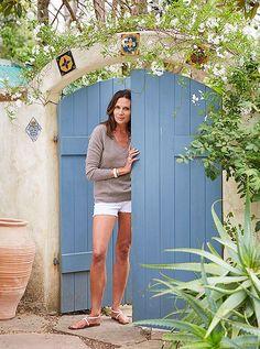 Take a tour of accessories designer Kendall Conrad's dreamy, Spanish-style Santa Barbara home right here!