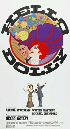 """Hello Dolly!"" Promotional Poster."