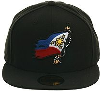 ed6266d5f18 Hat Club Exclusive Shipwrecked Pride Filipino Fitted Hat - Black
