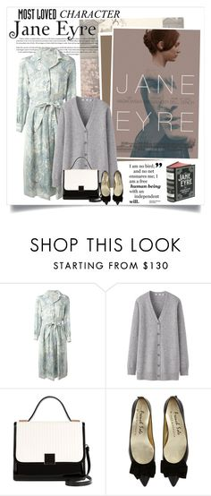"""""""Most Loved Character: Jane Eyre"""" by daha-mk ❤ liked on Polyvore featuring BRONTE, Nina Ricci, Uniqlo, Ted Baker, worldbookday, janeeyre, bookstyle and mostlovedcherecter"""