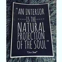 Zitat von Coco Chanel  #cocochanel #zitat #print #deko