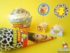 Toy Story - Kit Festa Papelaria Personalizada Serendipity Festas https://www.facebook.com/serendipity.festas
