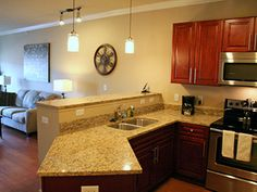 The Briarcliff City Apartments   Kitchen Http://www.execustay.com/furnished  Apartments/kansas City Mo/the Briarcliff City Apartments/index.php