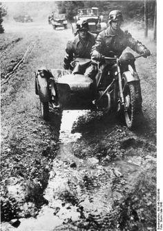 10/5/1940 las Ardenas: varias divisiones Panzer avanzan ordenadamente a través…