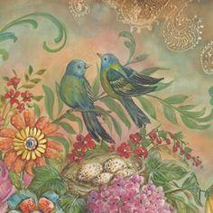 Garden Scroll by Kate McRostie | DecalGirl