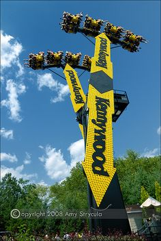 It's a fun ride for Cal U students who choose an internship with Kennywood Park Corp.